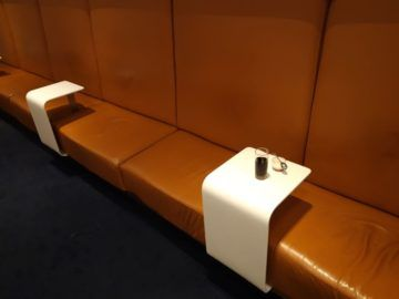 Lufthansa Senator Lounge London Heathrow Sitzbank
