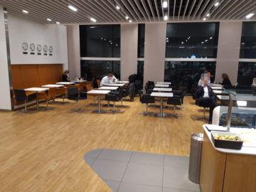 Lufthansa Senator Lounge London Heathrow T2a Essbereich