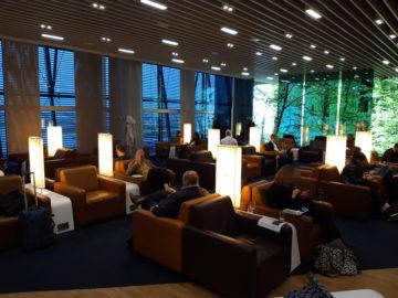 Lufthansa Senator Lounge London Heathrow T2a Hinterer Bereich