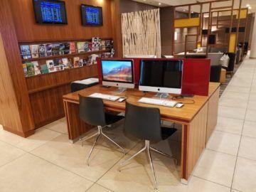 Marriott Muenchen Airport Arbeitsbereich