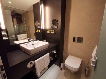 Marriott Muenchen Airport Executive Zimmer Bad