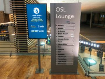 Osl Premium Lounge Oslo Airlines Der Lounge