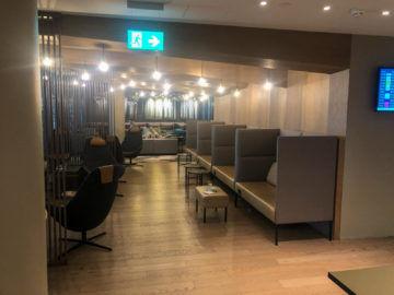 Osl Premium Lounge Oslo Blick Hinterer Bereich