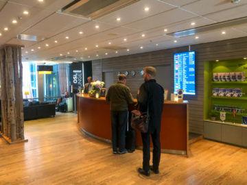 Osl Premium Lounge Oslo Empfang