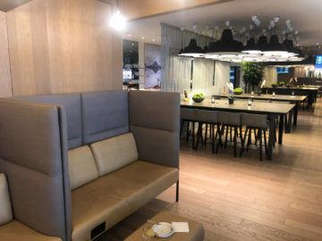 Osl Premium Lounge Oslo Vorderer Bereich Der Lounge