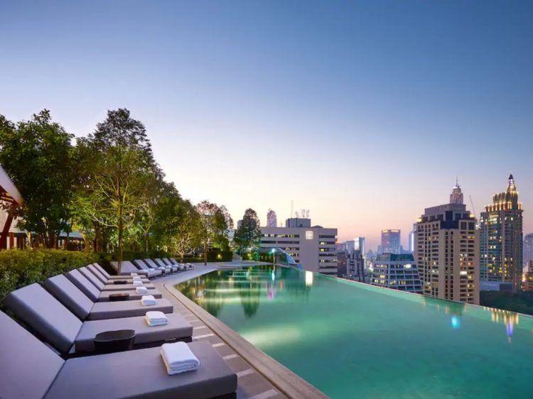 Park Hyatt Bangkok Pool Mit Ausblick Copyright