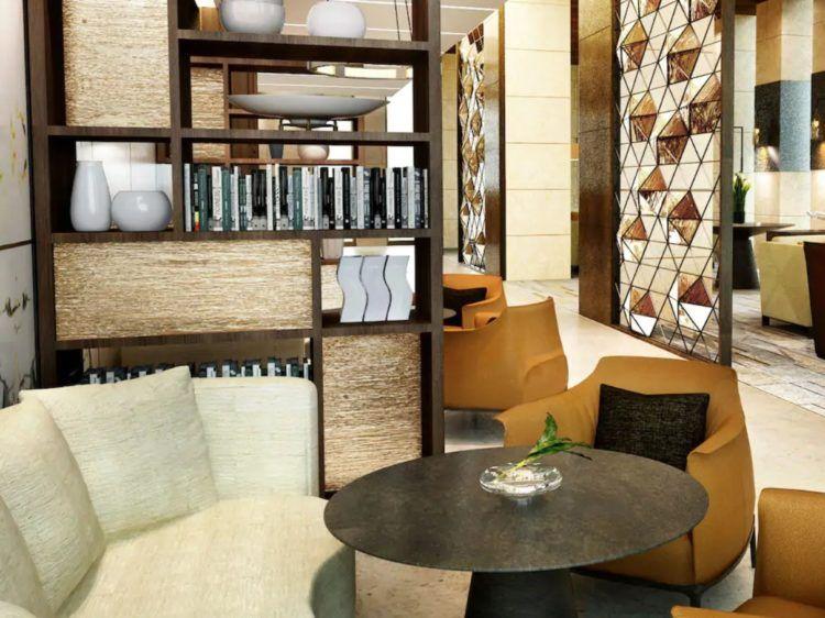 Park Hyatt Doha Lobby Library
