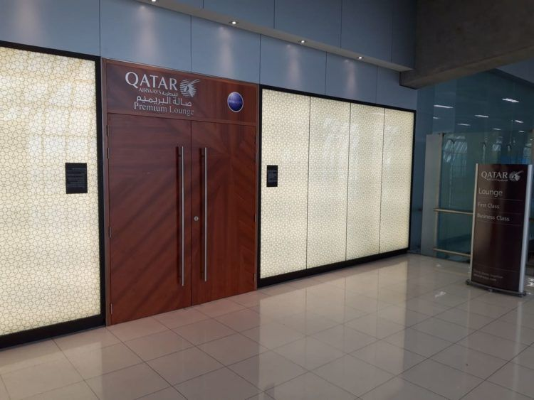 Qatar Airways Premium Lounge Bangkok