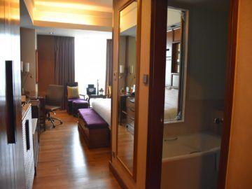 Shangri-La Chiang Mai Deluxe Room Eingangsbereich