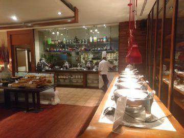 Shangri-La Chiang Mai Fruehstueck Offene Kueche