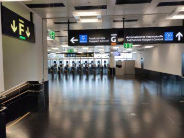 Sky Lounge Wien Nonschengen Passkontrolle