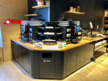 Swiss Alpine Lougne Zurich Kaffeautomaten