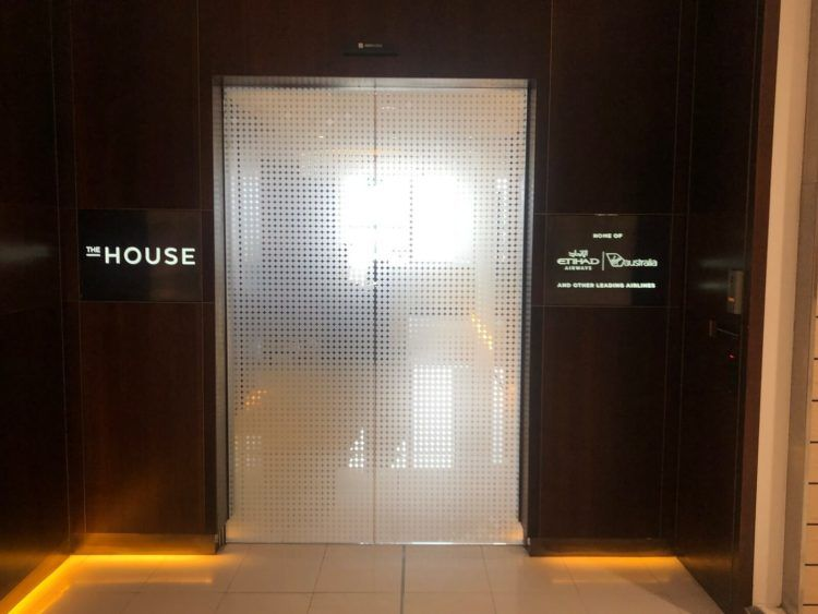 The House Lounge Sydney Eingangsbereich