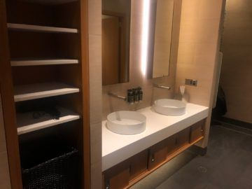 The House Lounge Sydney Toiletten Waschbecken