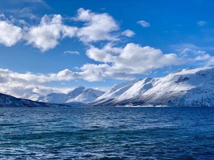 tromso norwegen berge