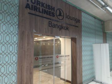 Turkish Airlines Lounge Bangkok Eingang