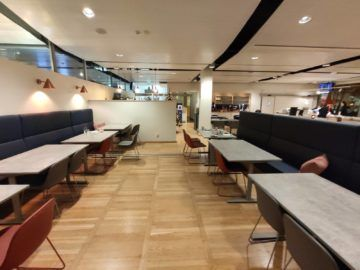 Vinga Lounge Göteborg Ausblick Tische Rechts