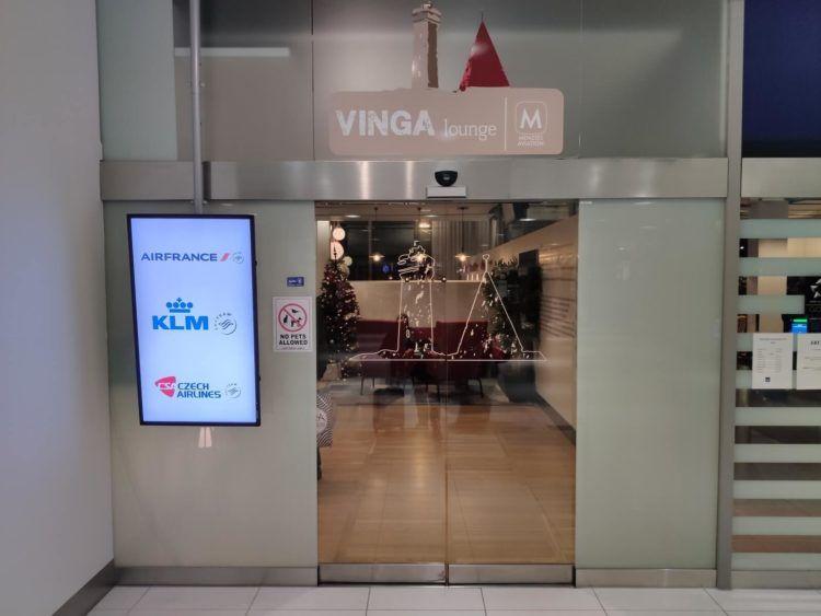 Vinga Lounge Göteborg Eingang