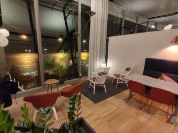 Vinga Lounge Göteborg Sitzbereiche Fensterfront Rechts