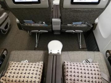 Eva Air Premium Economy Sitzabstand