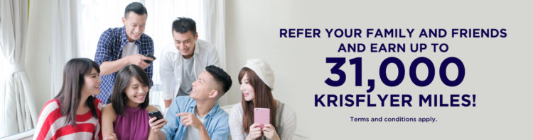 Krisflyer Freunde Werben Aktion Februar 2020