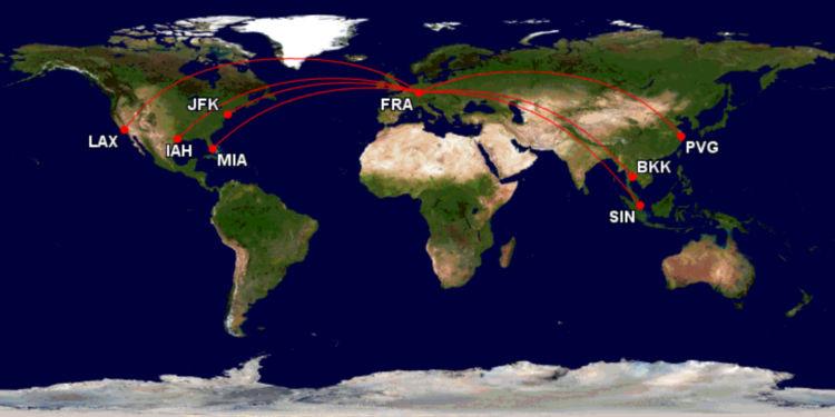 Lufthansa A380 Strecken Ab Frankfurt