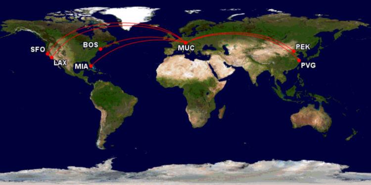 Lufthansa A380 Strecken Ab Muenchen