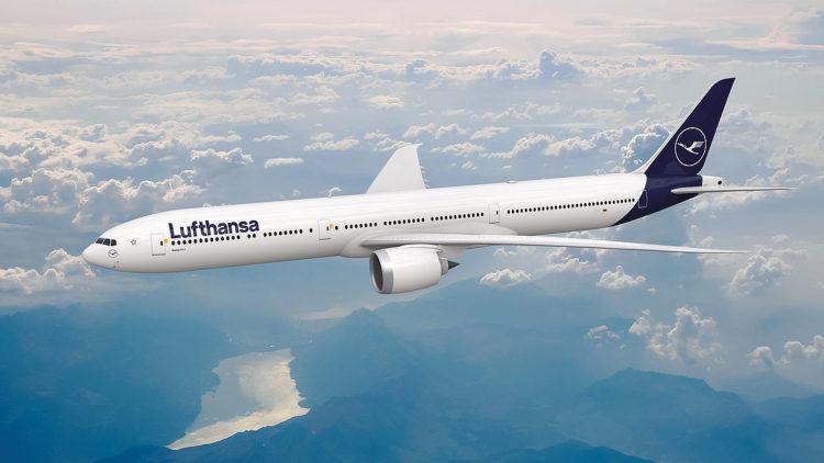 Lufthansa Boeing 777 9 Copyright