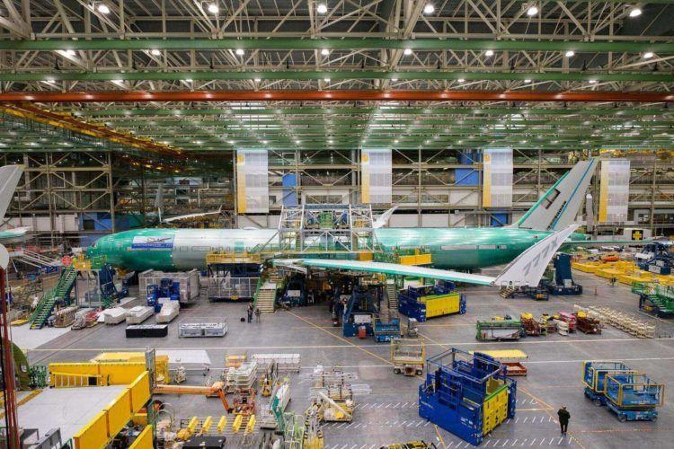 Lufthansa Boeing 777 9 Fabrik Zusammenbau Copyright