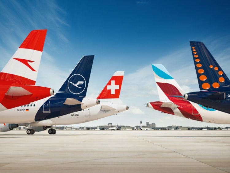 Lufthansa Group Fluglinien Leitwerke Copyright