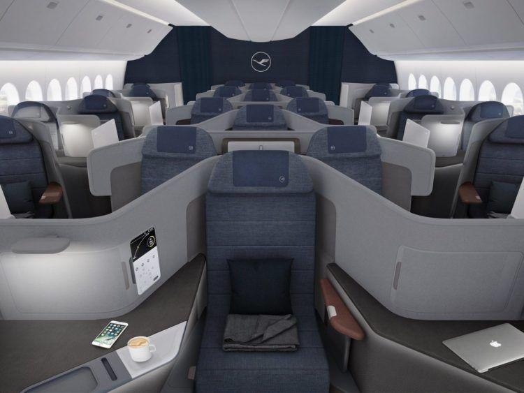 Lufthansa Neue Business Class Mittig Copyright