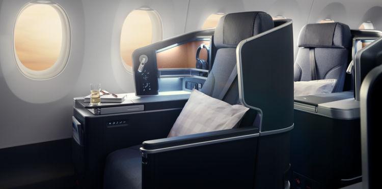 Sas A350 Business Class Copyright