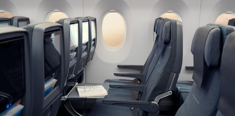 Sas A350 Economy Class Copyright