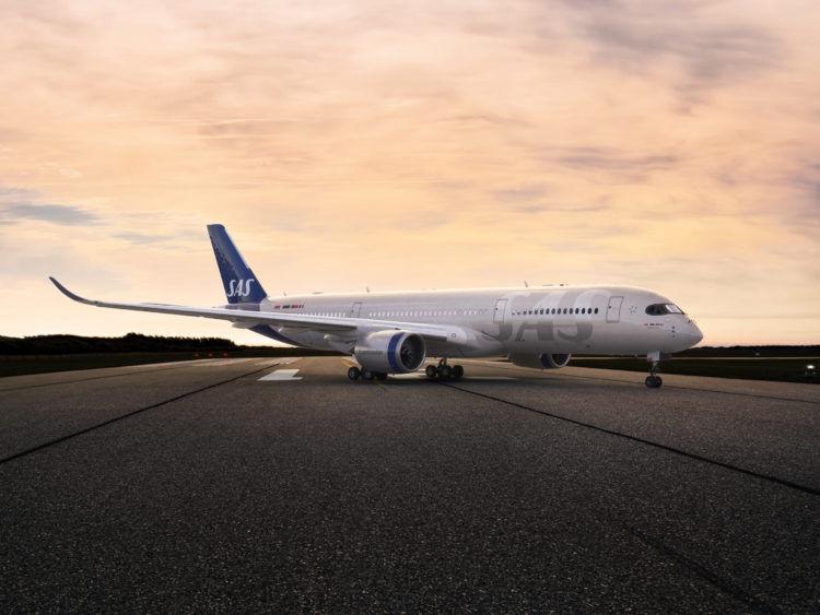 Sas Airbus A350 Copyright