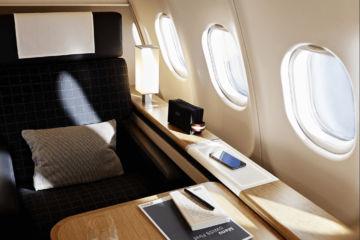 Swiss A340 Neue Business Class Copyright