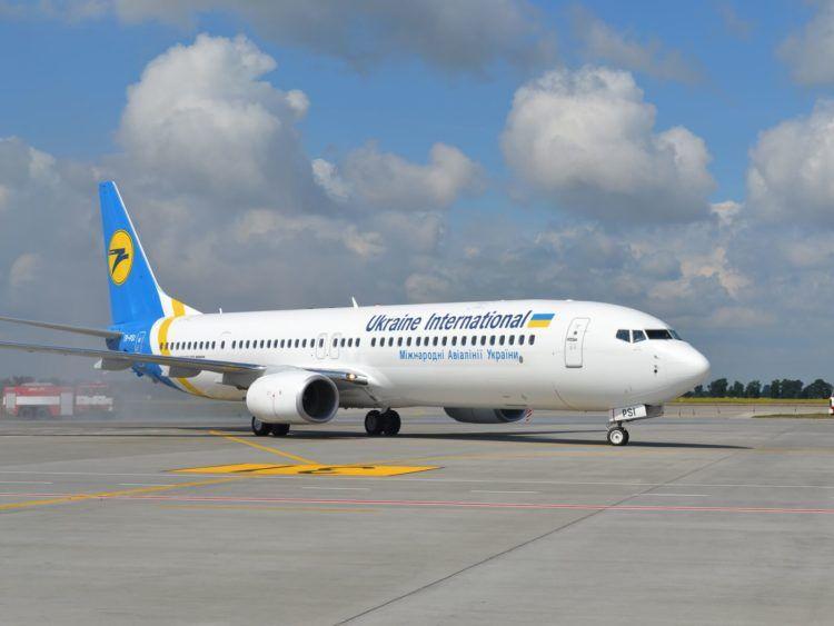 Ukraine International Airlines 737 Flughafen Copyright(1)