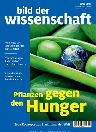 Bild Der Wissenschaft Cover Burda