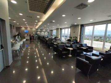 Cip Lounge Athen Ausblick Hinten