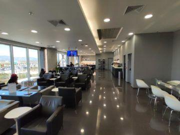 Cip Lounge Athen Ausblick Vorne