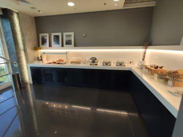 Cip Lounge Athen Buffetbereich