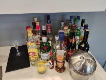 Cip Lounge Athen Spirituosen