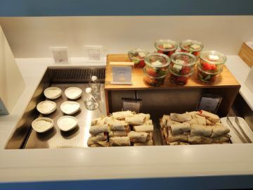 Cip Lounge Athen Wraps Salat