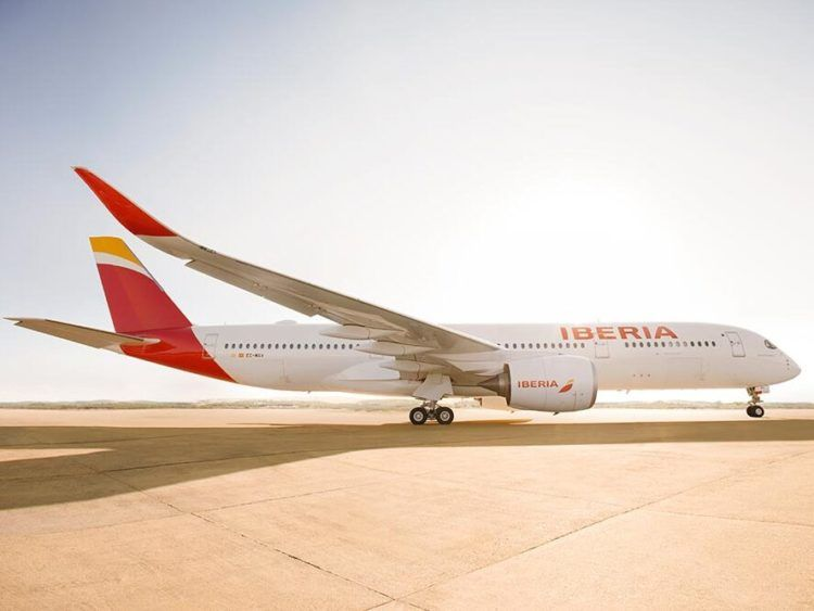 Iberia Plus Airbus A350 Copyright