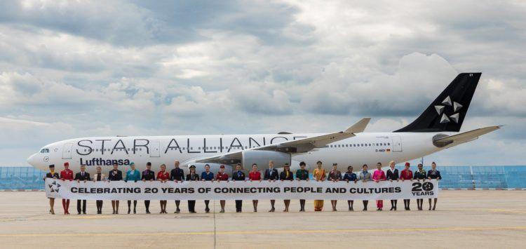 Star Alliance Flugzeug Lackierung Copyright