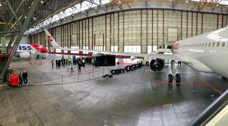 Swiss Airbus A320neo Halle