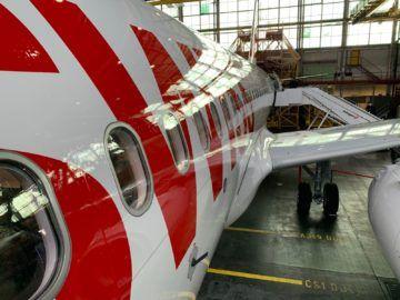 Swiss Airbus A320neo Seite
