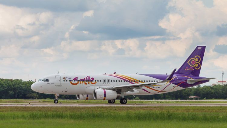 Thai Smile Landebahn A320 Copyright