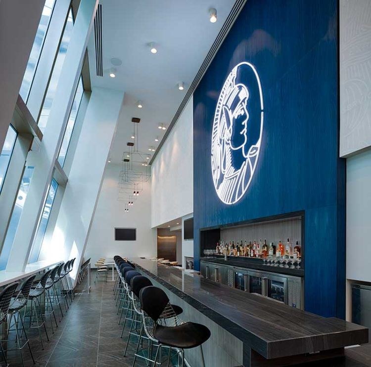 American Express Centurion Lounge Los Angeles Bar Copyright