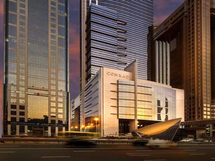 Conrad Dubai Aussenansicht Copyright