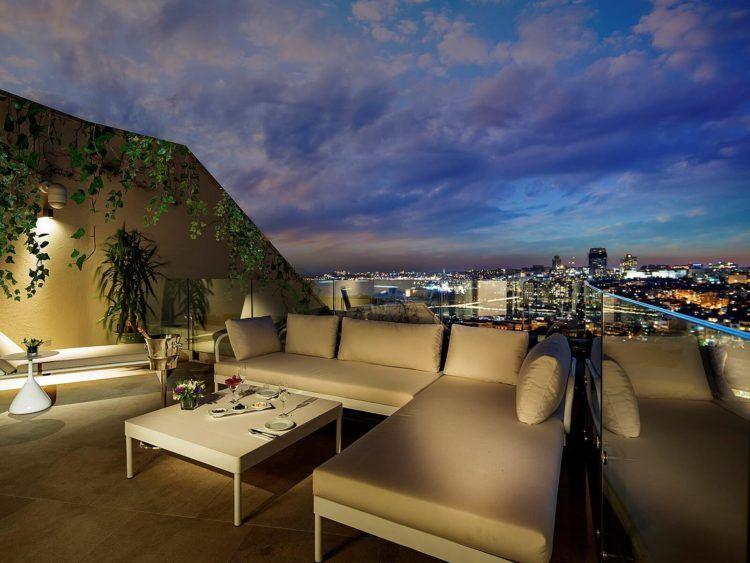 Conrad Istanbul Terrasse Park Suite Copyright